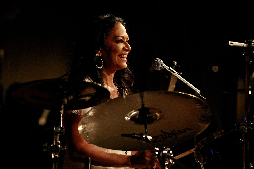 Sheila E. performs Wednesday, July 7 at the Aretha. - JOE SEER/SHUTTERSTO
