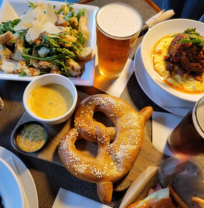 Chef Rodney Lubinski revamped the Detroit Beer Company's menu. - COURTESY OF DETROIT BEER COMPANY