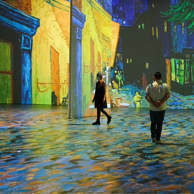 Beyond Van Gogh is one of two immersive Detroit events celebrating the iconic artist. - COURTESY OF BEYOND VAN GOGH/313 PRESENTS
