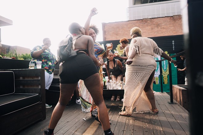Lesbian Social creates a safe nightlife space in Downtown Detroit. - CHELCEA STOWERS