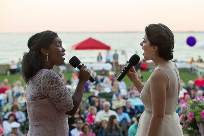 The Michigan Opera Theatre's touring ensemble will perform free, hourlong sets throughout the summer as a part of the Opera in the Park series. - COURTESY OF MICHIGAN OPERA THEATRE