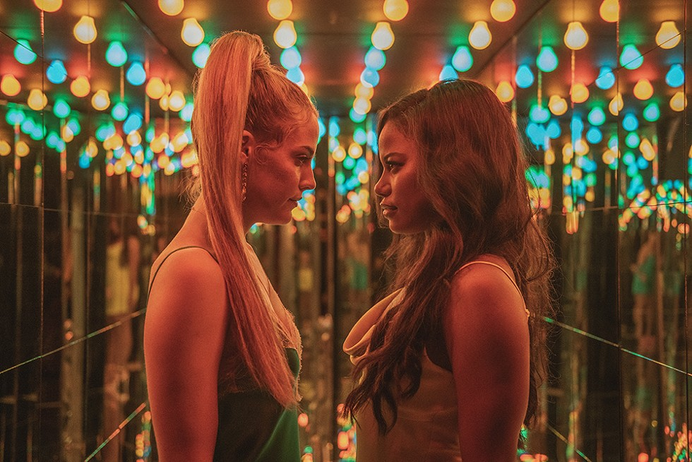 Riley Keough and Taylour Paige bring #TheStory to life. - PHOTO BY ANNA KOORIS, A24