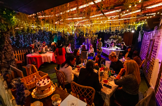The Alice will pop up in Detroit this September. - COURTESY THE ALICE: AN IMMERSIVE DRINKING EXPERIENCE