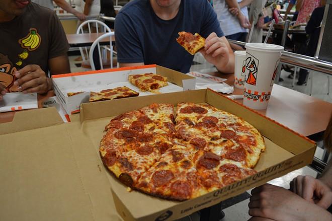 Pizza, pizza. - SCANNABLEZEBRA / SHUTTERSTOCK.COM