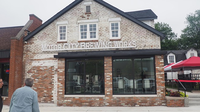 The Motor City Brewing Works Livernois Taproom is located at 19350 Livernois Ave., Detroit. - SEAN TAORMINA