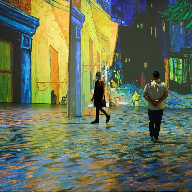 Beyond Van Gogh is extending its exhibit through October. - COURTESY OF BEYOND VAN GOGH/313 PRESENTS