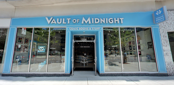 Vault of Midnight is saying 'goodbye' to downtown and 'hello' to Milwaukee Junction when the comic shop moves into bigger digs this fall. - GOOGLE MAPS/STREET VIEW