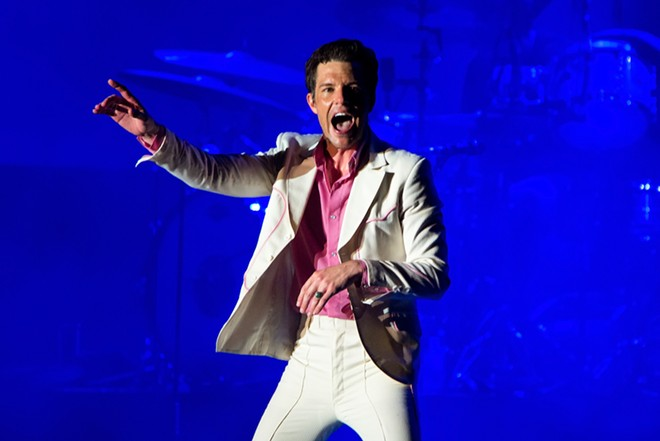 The Killers will bring their latest tour to Little Caesars Arena in October 2022. - CHRISTIAN BERTRAND / SHUTTERSTOCK.COM