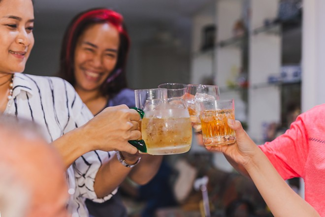 Detroit Whisky Festival offers guests 10 drink samples because, why not? - SHUTTERSTOCK.COM