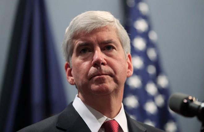Former Michigan Governor Rick Snyder. - VASILIS ASVESTAS / SHUTTERSTOCK.COM