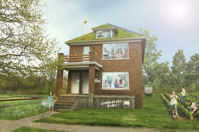 A conceptual rendering shows what Motown Movement was intended to look like. - COURTESY OF MOTOWN MOVEMENT