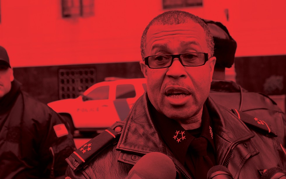 During his tenure as Detroit's police chief, James Craig regularly convinced residents of success where statistics suggested failure, including on crime. - STEVE NEAVLING
