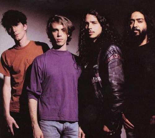 SOUNDGARDEN BACK IN THE 1990S. COURTESY PHOTO.