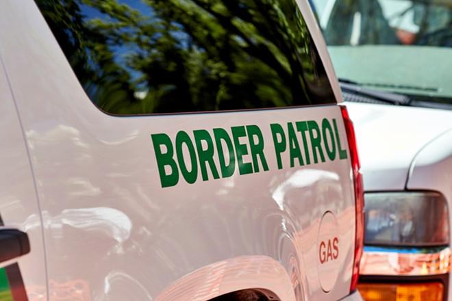 U.S. Border Patrol vehicle. - SHUTTERSTOCK