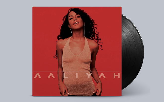 Aaliyah's music is available on CD and vinyl for the first time in many years. - COURTESY OF BLACKGROUND RECORDS
