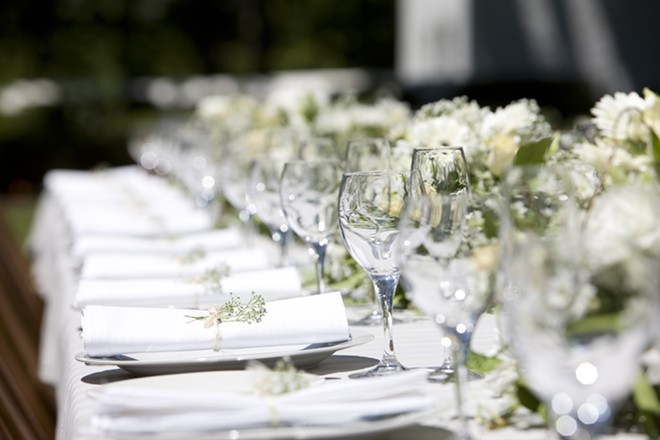 Outstanding in the Field, a pop-up fine dining series, will be hosting three dates in Michigan this month. - SHUTTERSTOCK