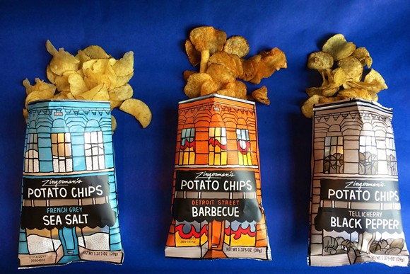 Zingerman's new lines of potato chips. - COURTESY OF ZINGERMAN'S