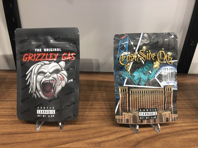 """Rapper Tee Grizzley has debuted a new line of """"Grizzley Gas"""" marijuana in a partnership with Levels Cannabis. - LEE DEVITO"""