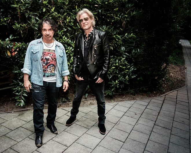 Daryl Hall and John Oates.  - MONDAY AGBONZZ