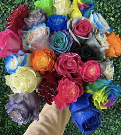 Taste the rainbow ... with your eyes. - COURTESY OF DETROIT FLOWER COMPANY