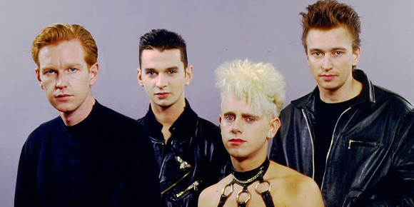 DEPECHE MODE BACK IN THE DAY. COURTESY PHOTO.