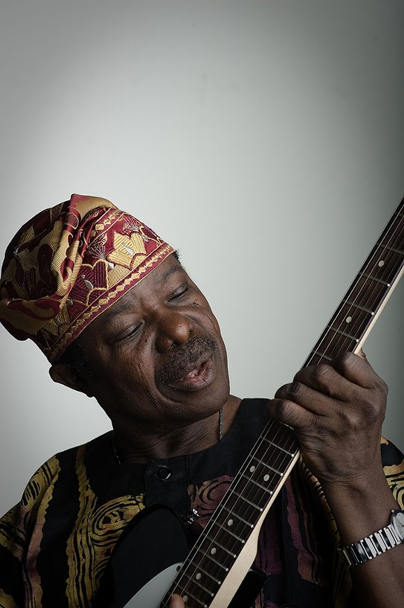 KING SUNNY ADE BY MICHAEL WEINTROB.