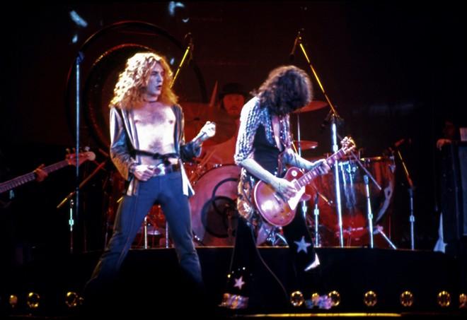 Led Zeppelin, 1975. - EDITORIAL CREDIT: BRUCE ALAN BENNETT / SHUTTERSTOCK.COM