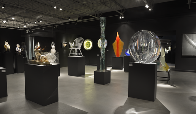 The 50th anniversary show will feature glass work from all over the world. - COURTESY OF HABATAT GALLERIES