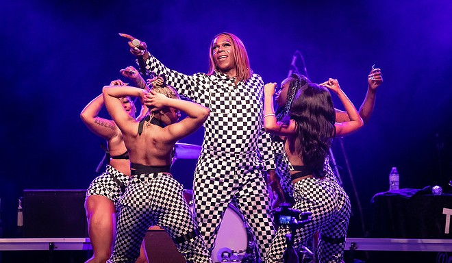 Big Freedia will shake her azz at the Majestic Theatre on Sep. 22. - ANDY WITCHGER VIA FLICKR CREATIVE COMMONS