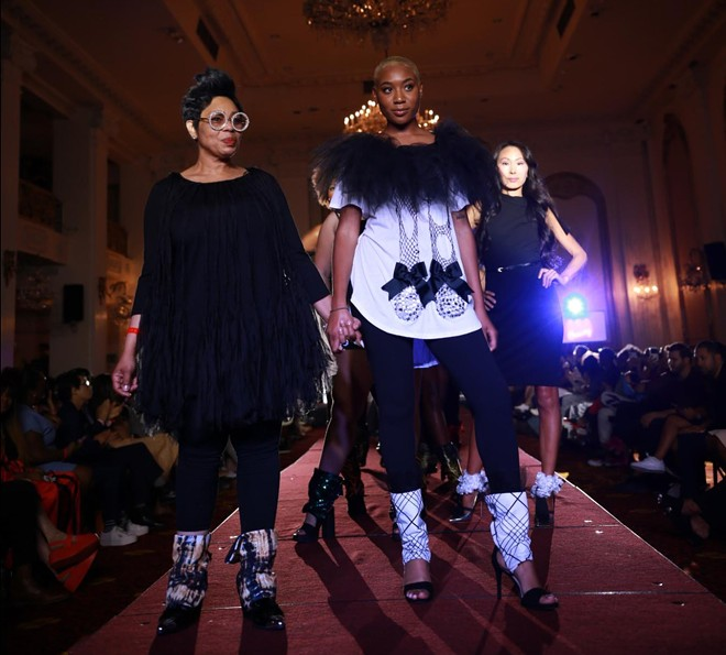 Indie Fashion at NYFW. - MARCUS HALL