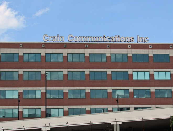 The headquarters of business and trade publisher Crains Communications. - DANIEL J. MACY / SHUTTERSTOCK.COM