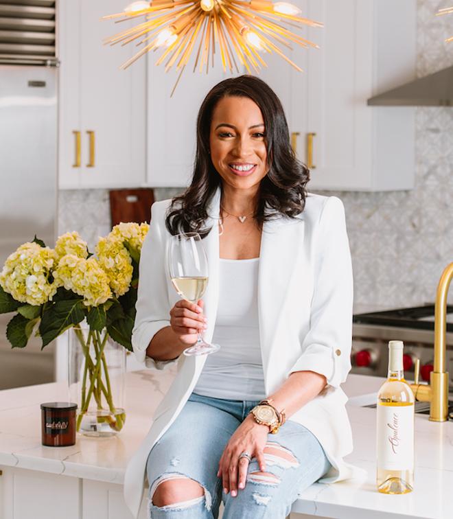 Dr. LaToya Thompson will launch Opulence Wine, a luxury wine brand on Oct. 7. - REBBECCA SIMONOV