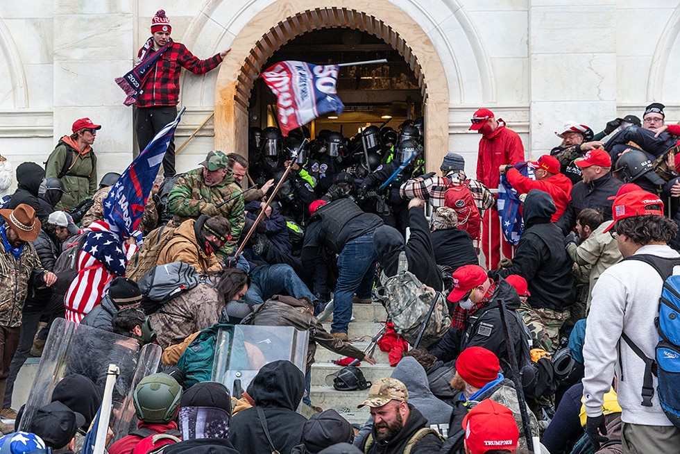 Trumpism boiled over on Jan. 6. - LEV RADIN, SHUTTERSTOCK.COM