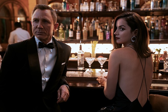 The last of the famous international playboys: Daniel Craig stars as James Bond for the final time in No Time to Die.  - NICOLA DOVE/METRO-GOLDWYN-MAYER STUDIOS