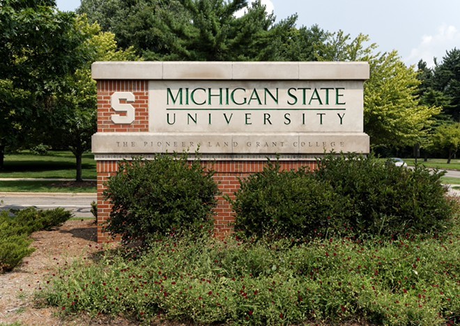 Michigan State University requires all students and staff to be vaccinated against COVID-19. - SHUTTERSTOCK