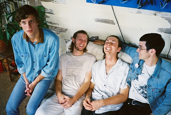 Bonny Doon, from left to right: Jake Kmieck, Bill Lennox, Bobby Colombo, Josh Brooks. - JULIA CALLIS