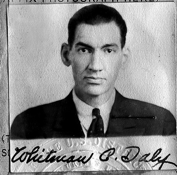 A YOUNG WHITMAN DALY. PHOTO SUPPLIED BY FAMILY.