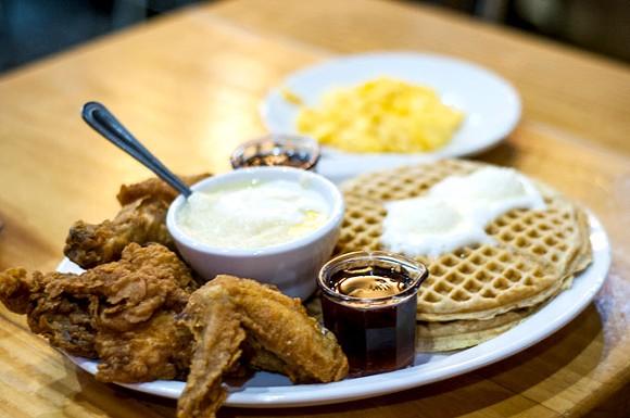 Kuzzo's Chicken & Waffles. - TOM PERKINS