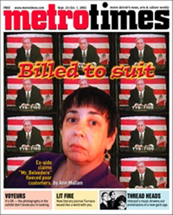 THE COVER OF MT'S 2002 STORY ON MARIANNE DIGRANDE