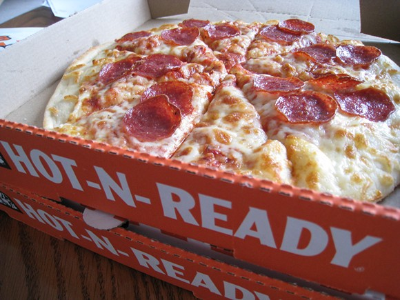 The ubiquitous Little Caesars Hot-N-Ready - O