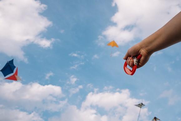 Create kites at the Detroit Institute of Arts. Photo courtesy of Detroit Kite Festival.