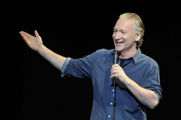 Bill Maher will opine at the Fox on Saturday. Courtesy photo.