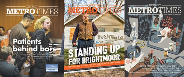 Award-winning cover stories from Metro Times.