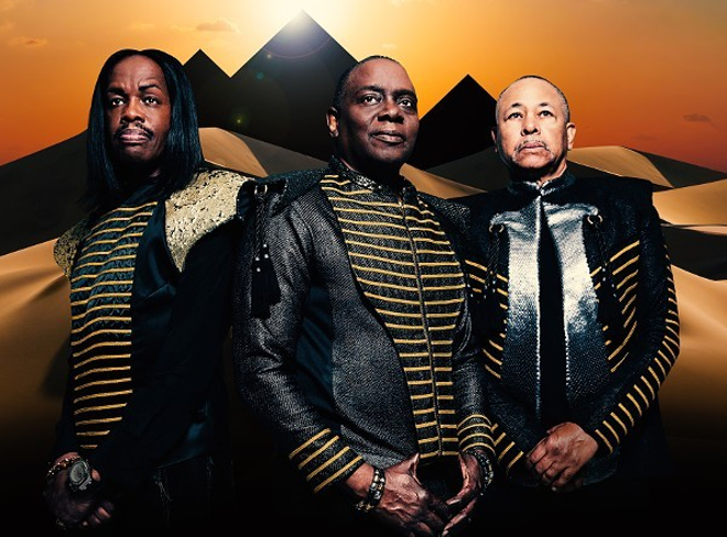 Earth, Wind & Fire - COURTESY PHOTO.