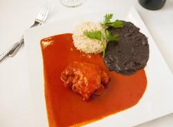 Chicken in chileajo