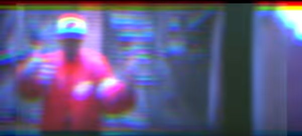 """TY FARRIS, IN A STILL FROM THE VIDEO TO """"LIVE FROM ROOM 39"""""""