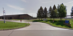 A Michigan prison worker and an inmate got busted having sex in a kitchen cooler - GOOGLE MAPS