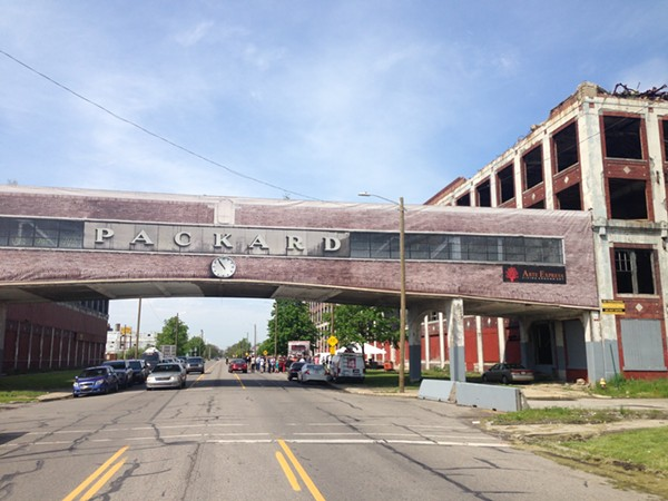 The Packard Plant. - LEE DEVITO