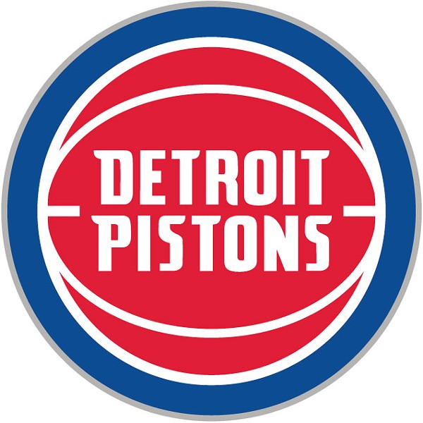 """The new Pistons logo that the team's chief marketing officer says """"celebrates the club's long-standing history."""" - DETROIT PISTONS"""