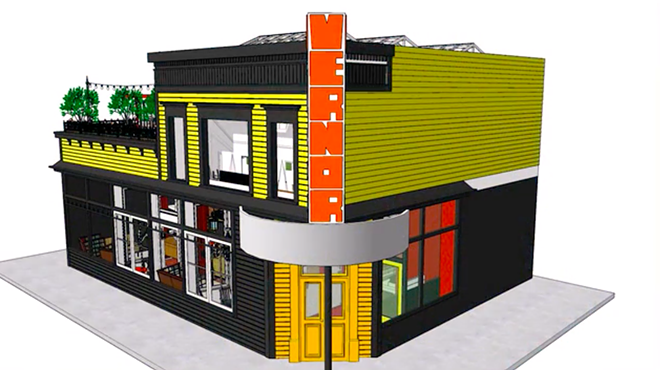 DIGITAL RENDERING OF THE VERNOR CAFE